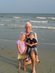 Poppa with kids, HHI 2013