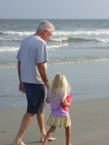 Poppa with Lydia, HHI 2013